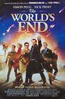 Внешний вид - THE WORLD'S END MOVIE POSTER 2 Sided ORIGINAL RARE 27x40 SIMON PEGG