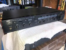 Vintage Yamaha Cx-600U Natural Sound Audio Stereo Control Amplifier (Preamp)