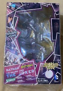 DC The Killing Joke 1st Edition Joker Batman ArtFX Kotobukiya Statue MISB Rare