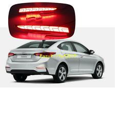 For Hyundai Solaris Accent 2017 2018 LED Rear Fog Lamp Bumper LED Brake Light