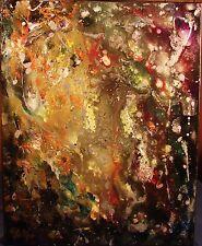 Modernist Expressionist Abstract MODERN ART Painting DREAM WORLD STELLAR FOLTZ