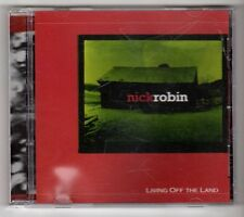 (GY301) Nick Robin, Living Off The Land - CD