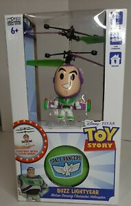 Disney Pixar Buzz Lightyear Motion Sensing Character Helicopter