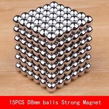 15PCS Ball magnet D8mm Super powerful rare earth neodymium magnets diameter 8mm