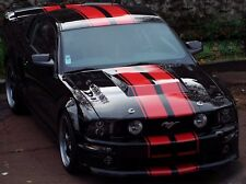 Decal Graphic Sticker Stripe Body Kit for Ford Mustang GT Xenon Skirt Chin Flare