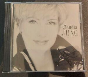 """CLAUDIA JUNG """"Claudia Jung"""" CD Album original signiert IN PERSON Autogramm"""