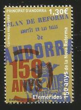 Spain ANDORRA 150 Años de la Nueva Reforma Edifil # 447 ** MNH  Novedad 2016