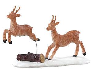 Lemax Prancing Reindeer (423) Weihnachtsdorf, Weihnachtsfiguren, Modellbau