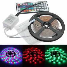 5 m RGB LED Stripe Leiste Streifen Band Lichter SMD Leuchten Lichterkette 3528