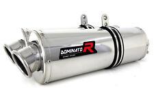 DOMINATOR Exhaust scarico OVAL TRIUMPH SPEED TRIPLE 1050 05-07 + DB KILLER