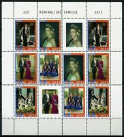 Aruba 2015 Königliche Familie Royalty König King ZD-Bogen Postfrisch MNH