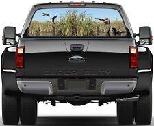 Ducks Hunting Waterfowl Hunters Rear Window Graphic Decal Truck
