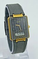 Men's TISSOT Two Timer Gray/Gold Tone Ana-Digi Swiss Quartz Watch (Parts/Rep)