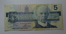 CANADA - 5 Dollars - 1986                          [#7063]