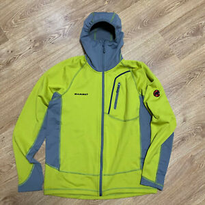 Mammut Yukon Tech Mens Outdoor Hooded Jacket Size L