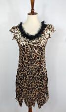 Rubie's Costume Co Cave Woman Leopard Print Sexy Dress Halloween Jungle Sz M