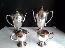 VINTAGE KEYSTONEWARE SILVER PLATED COFFEE/TEA SET