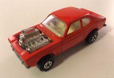 Matchbox Rolamatics # 67 Ford Capri Hot Rocker Orange Diecast Car 1973 1:64 RARE