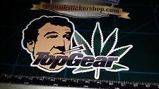 Apedreado Clarkson Weed Sticker Decal Laptop, coche, furgoneta, Top Funny grosero Jeremy Gear