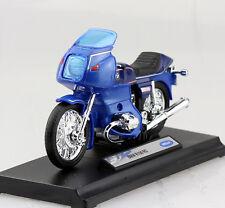 BMW R100 R 100 RS blau 1/18 Welly Modellmotorrad MODELL Motorrad