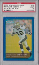 06 BOWMAN CHROME MARQUES COLSTON ROOKIE REFRACTOR NON AUTO #10/150 GRADED 9 MINT