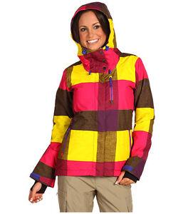 Roxy Womens Meridian Jacket,Ski Snowboarding Winter Insulated Jacket Size XS,NWT