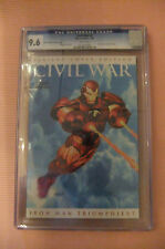 CGC 9.6 NM+ NEAR MINT SCARCE CIVIL WAR # 7 EURO VARIANT RRP OLIVETTI