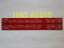Mosfet Se class A Jfet input power amp stereo huge Pcb!