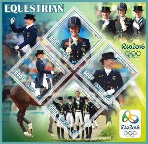 Stamps Olympic Games 2016 in Rio Equestrian