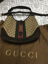 Gucci Shoulder bag Jackie GG Canvas Hobo With Cross Body Strap