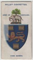 Worshipful Company of Comb Makers London England Hair 100+ Y/O Trade  Card