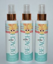 LOT OF 3 BATH & BODY WORKS AT THE BEACH SEA SALT HAIR MIST SPRAY 4.9 OZ TEXTURE