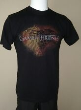 GAME OF THRONES DRAGON BACKGROUND BLACK SMALL SM MENS TEE T SHIRT NEW