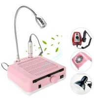 3 in1 Salon Nail Art Equipment Tool Drill Suction Dust Collector Machine Lamp CO