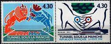 Y&T n° 2882 à 2883 de 1994 Inauguration du tunnel sous la Manche    NEUF **