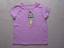New ex Mini  Boden Tshirt Top 1.5-2 years Pink Ice Cream