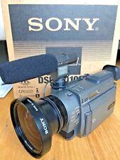 Sony DSR-PD100A Camcorder 3CCD Mini Dv PD100 DVCAM Lens Attachment Mic Manual