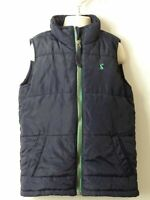 BOYS JOULES AGE 6 YEARS BLUE & GREEN PADDED QUILTED BODYWARMER COAT JACKET KIDS