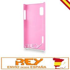 """Carcasa p/ LG OPTIMUS L5 P610 Rígida, color ROSA """"ENVÍO DESDE ESPAÑA"""" Nuevo s58"""