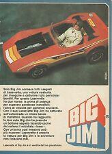 X7757 Lazervette di Big Jim - Mattel - Pubblicità 1980 - Vintage Advertising