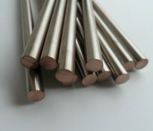 1pcs tungsten copper rod solid column bar W70 electrode 5.5mm-12mm diameter