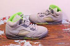Nike Air Jordan 5 V Retro Green Bean Silver Flint Grey 5.5Y Youth Shoe Sneaker