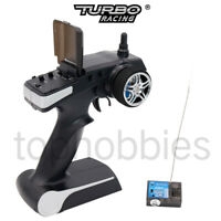 Turbo Racing 90700G-J 2.4GHz 2CH  Radio Receiver & Transmitter For RC Boat Car
