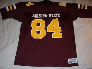 Arizona State Sun Devils 84 NCAA Maroon Champion Football Jersey Men's XL used