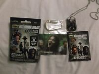 Walking Dead Season 4 Dog Tags Prison Horde Walker Costume Dog Tag C17 of 17