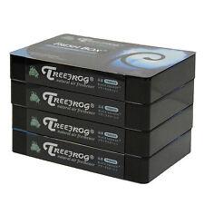 4 PACK NEW JDM TREEFROG FRESH BOX (aka XTREME FRESH) BLACK SQUASH AIR FRESHENER