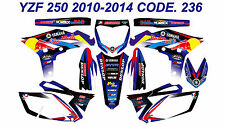 236 YAMAHA YZF 250 2010 2011 2012 2013 Autocollants Déco Graphics Stickers Decal