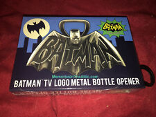 "Batman Superhero 1966 TV Series Logo Metal Bottle Opener 4"" Barry Bradfield NEW"