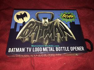 "Batman Superhero 1966 TV Series Logo Metal Bottle Opener 4"" Barry Bradfield NEW"