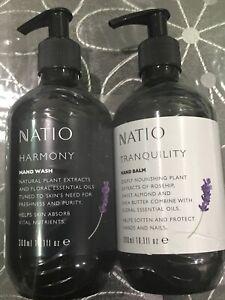 1/2 Price !!  NATIO Harmony and Tranquility Hand Balm Set 600ml